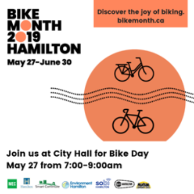 Bike Month 2019 in Hamilton